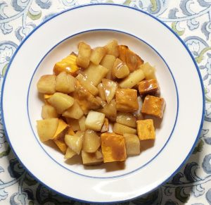 Cinnamon Apple & Sweet Potato Dessert